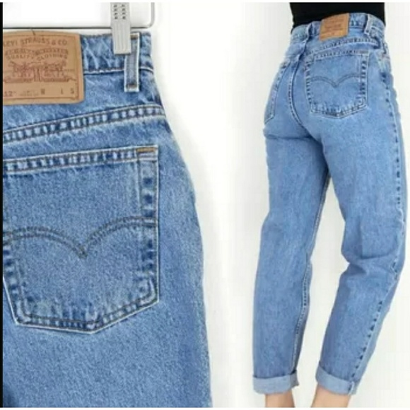 c7cabb2770f Levis Denim - Vintage Levis 512 Slim Fit Tapered Leg Jeans